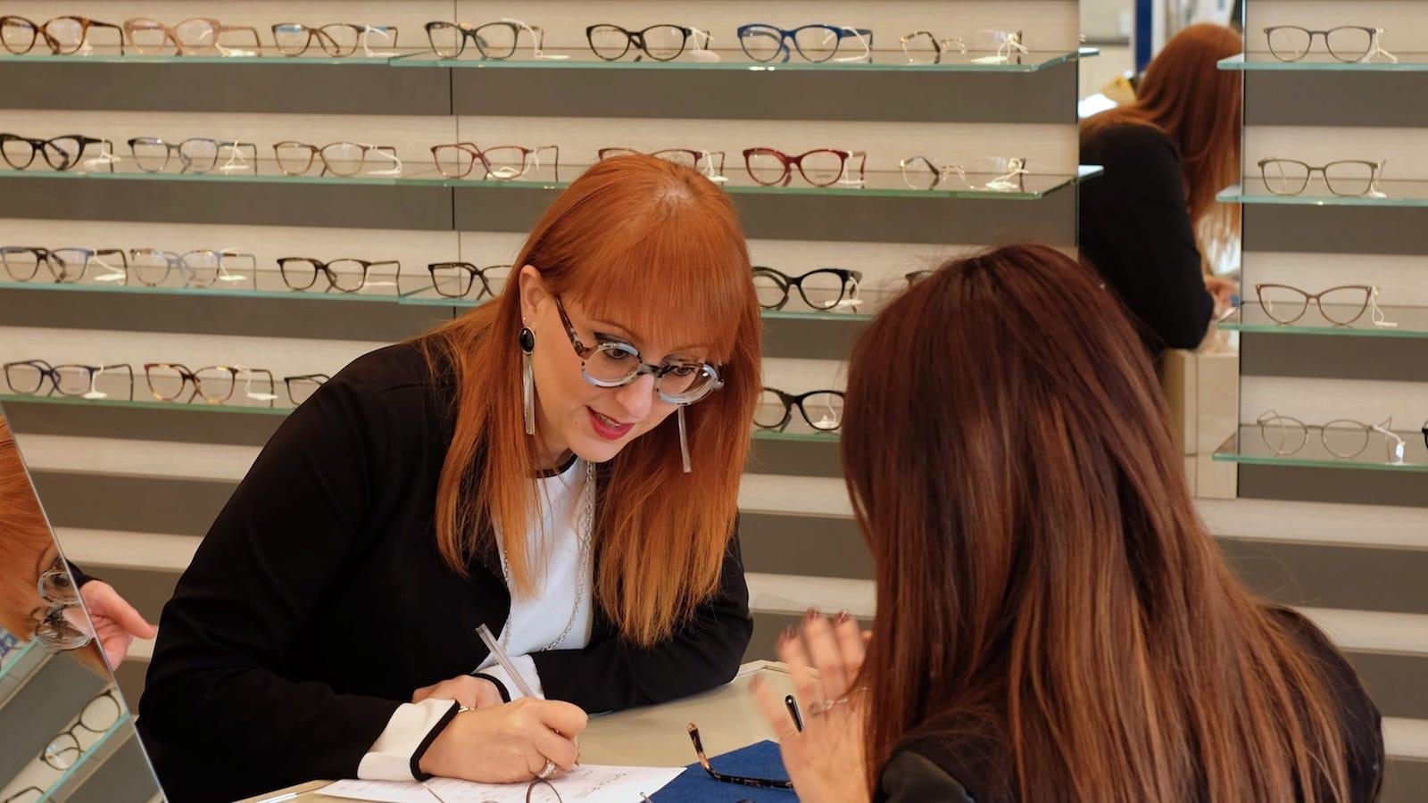 Consulenza per la scelta dell'occhiale - Ottica Pozzi
