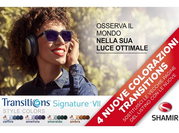Transitions® Style Colors - da Ottica Pozzi a Villafranca di Verona