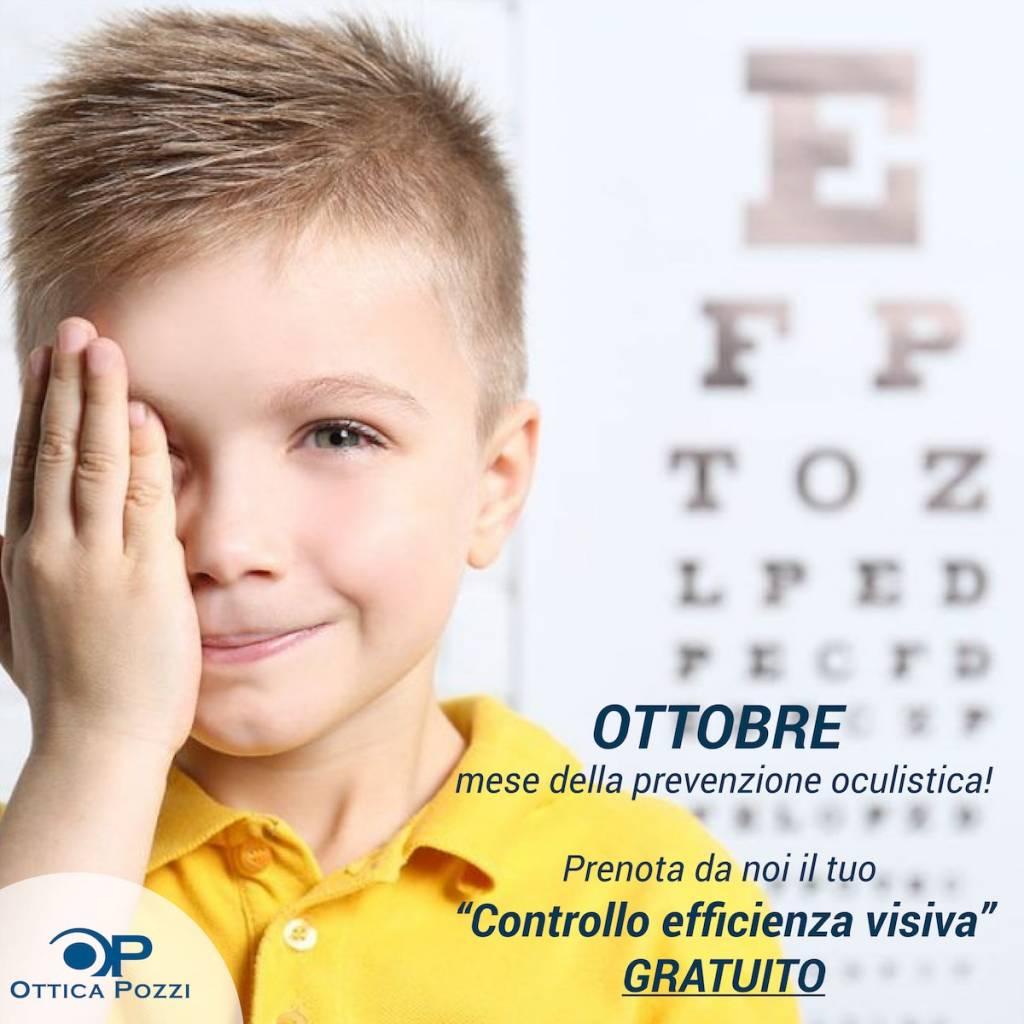 Controllo efficacia visiva - OtticaPozzi Villafranca di Verona