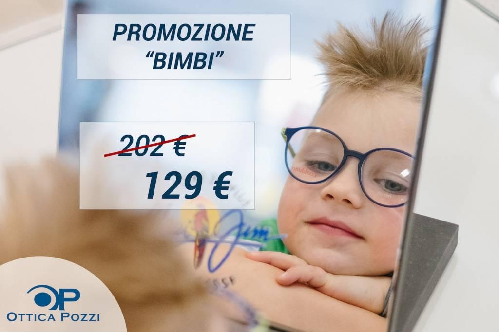 PROMOZIONE BIMBI - Sconti fino al 40% - Ottica Pozzi