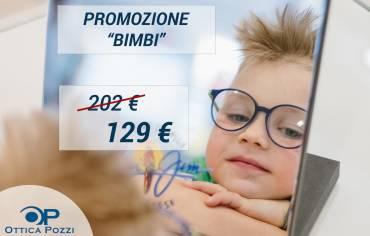 PROMOZIONE BIMBI – Sconti fino al 40%