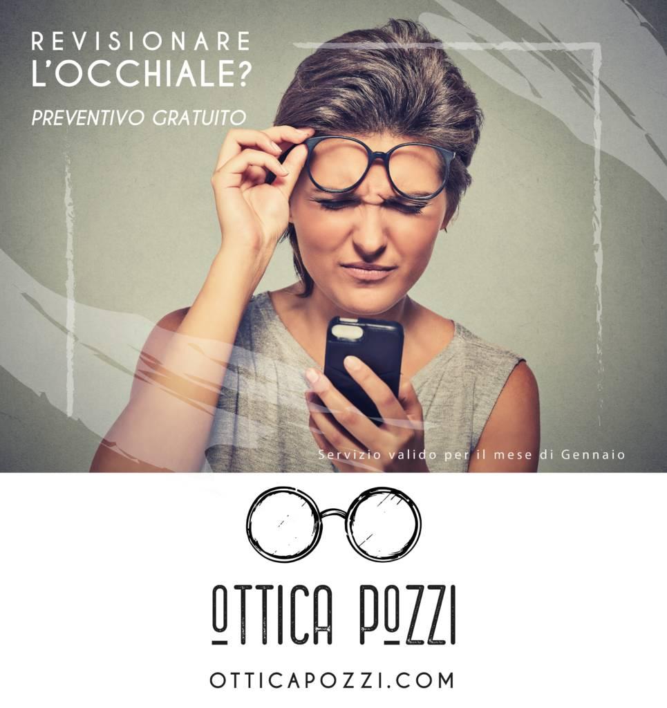 Servizio controllo e revisione occhiale - Ottica Pozzi Villafranca di Verona